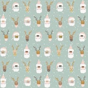 Deer Santa-4x5.47