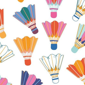 Colorful Shuttlecocks