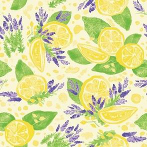 Lavender and Lemonade - Leaf Green