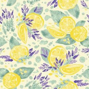 Lavender and Lemonade - Blue