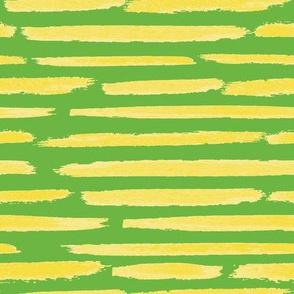 Lemon Brush - Leaf Green