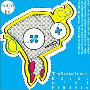 The Seamstress' Robot (mini plushie)
