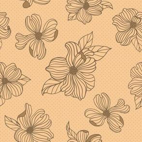 Dogwood Blossoms | Tequila Sunrise