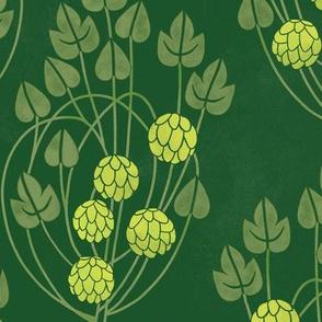 Glasgow hops green