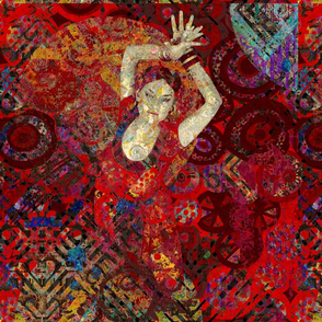 Looking Up: The Flamenco Dancer