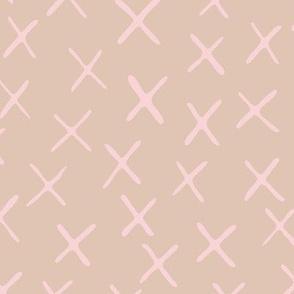 x marks the spot - blush