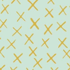 x marks the spot - minty