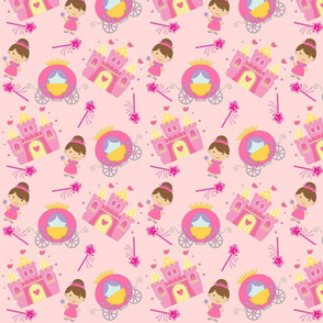 Princess Pink Bkg