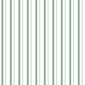 Santa' s Light green striped pyjama pattern