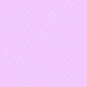 Raindrops lavender