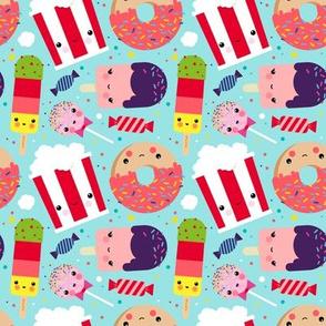 Kawaii Sweets Pattern