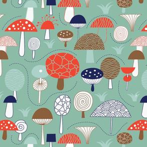 Funky Mushroom