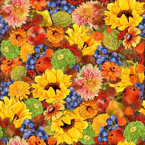 Fall Fruit and Floral