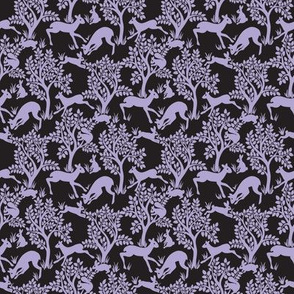 Forest Micro in Purple and Black