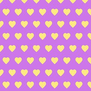 Lavendar & Lemonade Hearts (small)