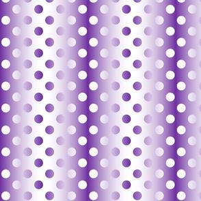 Grande purple white gradient dots