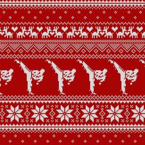 Karate Christmas Sweater