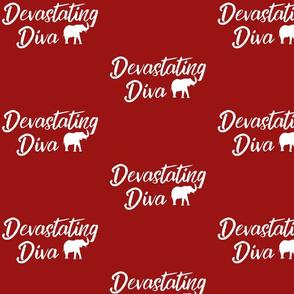 Devastating Diva fabric