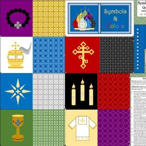 Symbols and Colors Cloth Book