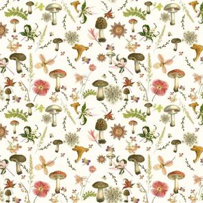 mushroom floral sm scale