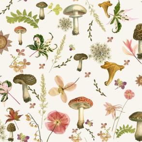 mushroom floral lg