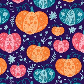 (lg) Decorative Pumpkins 2
