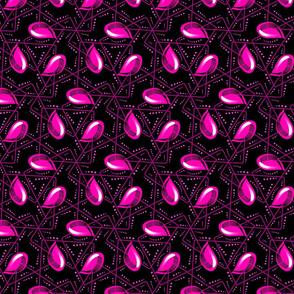 Teardrop tile-pink