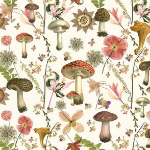 Garden Mushrooms