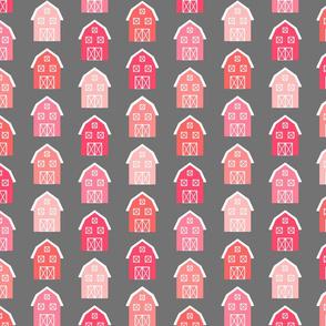 Pink Barn Pattern
