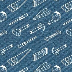 Tool Time!  | Denim Blue