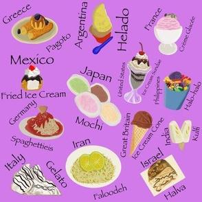 We All Scream for Ice Cream Purple Small