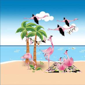 Flamingos.Inflight.Panel