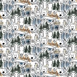Wild Wild Canada - Small Scale
