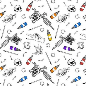 Tattoo Shop - Small Scale