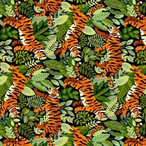 Bengal Tiger Jungle (Horizontal - Small Version)