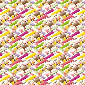Isometric icecream - white - eight