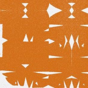 Cut Birchbark - sienna variation