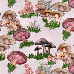 Linen Mushrooms