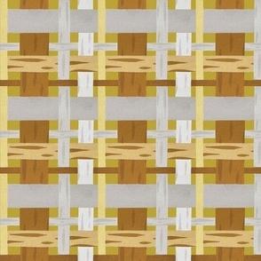 daisy plaid yellow coordinate