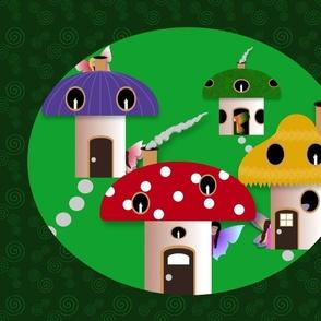 Shy Fairies in the Fungus Among Us