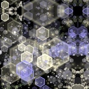 Hexagonal ice storm