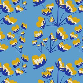 Wildflowers - Blue