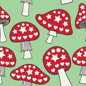 Jazzy toadstools (large)