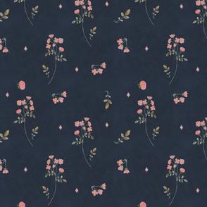 Bella Nora Simple roses pattern