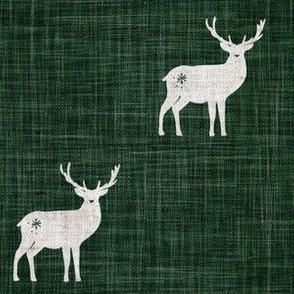 RGB 6 by 6 Forest Green Stags