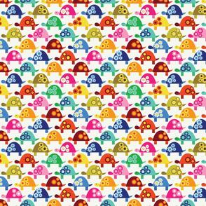 Brightly-Colored Tortoises-Mini