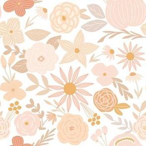 terra firma florals - soft peach