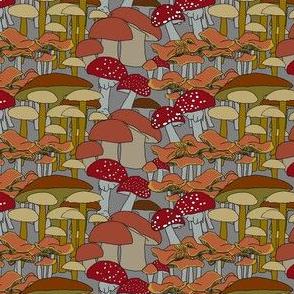 just mushrooms