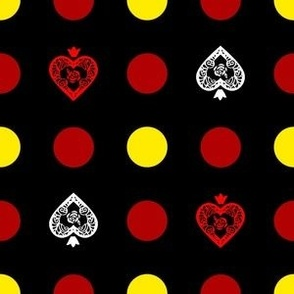 Queen of Heart Polka Dot