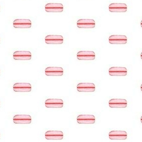 pink macaron small